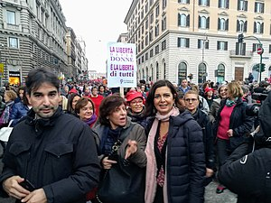 WDG - March for Elimination of Violence Against Women in Rome (2018) 24.jpg