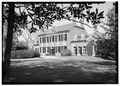 WEST FRONT, FROM THE SOUTHWEST - Woodlawn, 9000 Richmond Highway, Mount Vernon, Fairfax County, VA HABS VA,30- ,3-6.tif