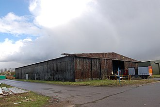 Bellman hangar - Bellman hangar at former RAF Stoke Orchard