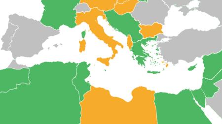 Perang Dunia II Kancah Mediterranean dan Timur Tengah