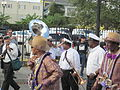 WWOZ 30th Parade Elysian Fields Lineup Dancers.JPG