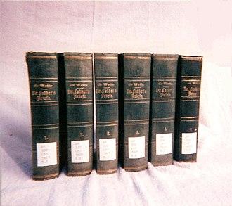 Wilhelm Martin Leberecht de Wette - Image: W M L De Wette collection of Martin Luther's letters 01