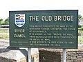 Wadebridge, GB, the Old Bridge.JPG