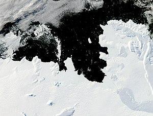 Walgreen Coast - Satellite image of the Walgreen Coast.