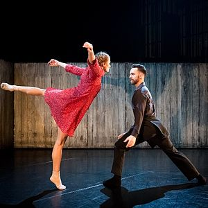 National Dance Company Wales - NDCWales Dancers perform 'Walking Mad' by Johan Inger 2015.