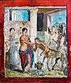 Wall painting - Peirithoos receiving the centaurs at his wedding - Pompeii (VII 2 16) - Napoli MAN 9044.jpg