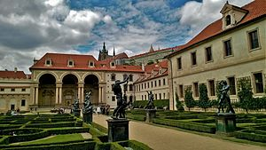 Senate of the Czech Republic - Wallenstein Palace in Prague, the main building of the Senate