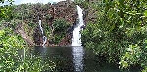 Wangi Falls - Image: Wangi Falls Litchfield National Park