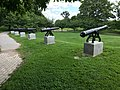 War of 1812 Memorial Cannons, Patterson Park, Baltimore, MD (35223403606).jpg