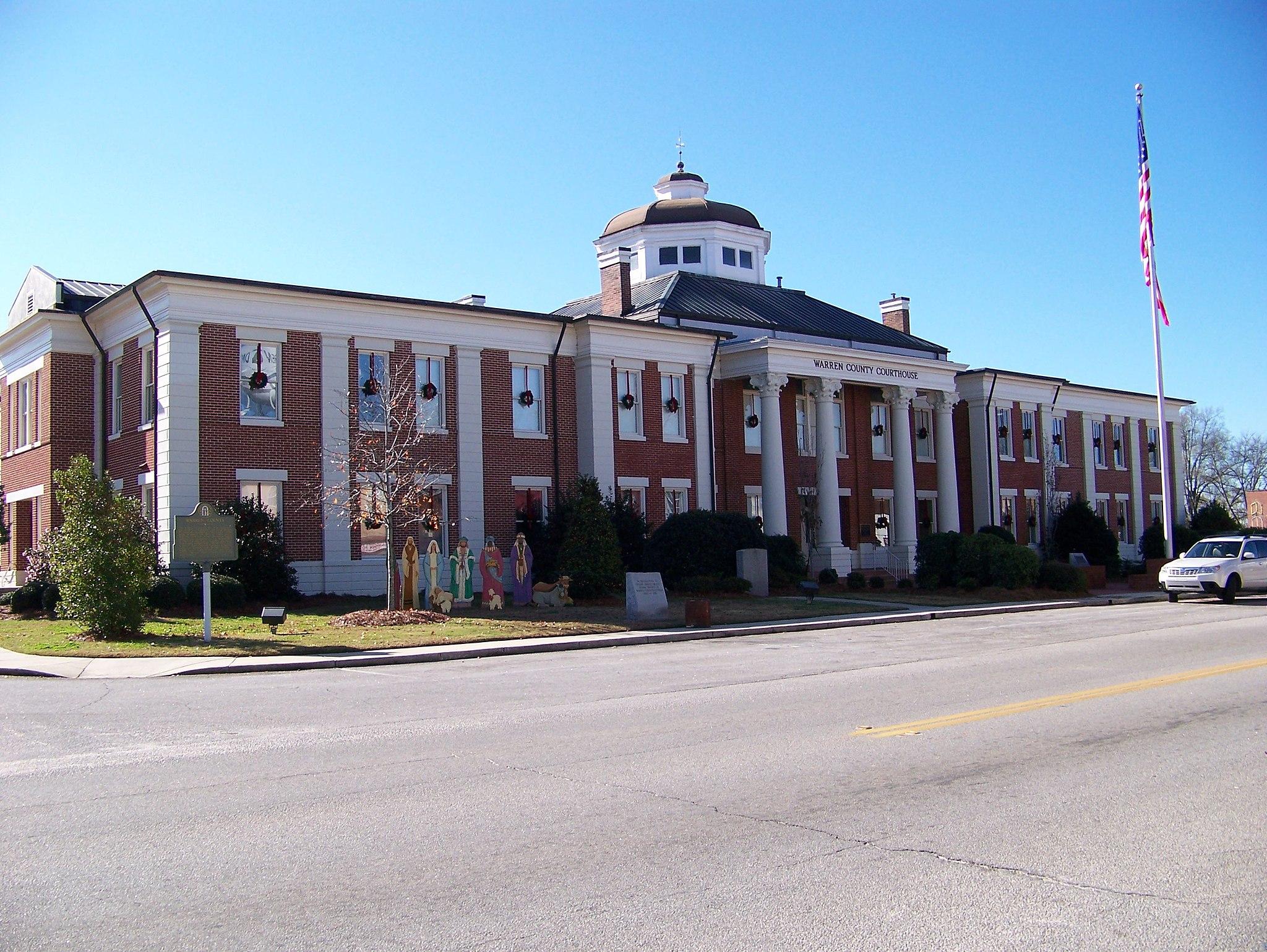 Warren County Courthouse, Warrenton, GA