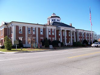 Warren County, Georgia - Image: Warren County Courthouse, Warrenton, GA