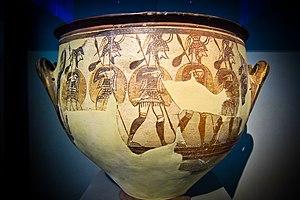 Warrior Vase - Photo of the Warrior Vase by Sharon Mollerus