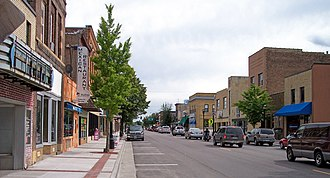 Waseca, Minnesota - State Street in downtown Waseca in 2007
