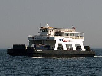 Washington Island (Wisconsin) - Image: Washington Ferry