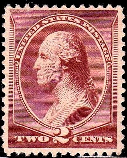 Washington CV 1883 Issue-2c