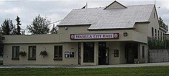 Wasilla, Alaska - Wasilla City Hall, August 2008
