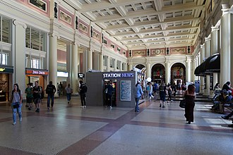 Waterfront station (Vancouver) - Waterfront's main concourse