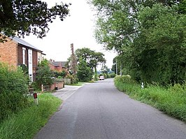 Watery Lane Between Foston and Scropton - geograph.org.uk - 1404126.jpg