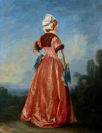 Jean-Antoine Watteau - Image: Watteau Polish woman