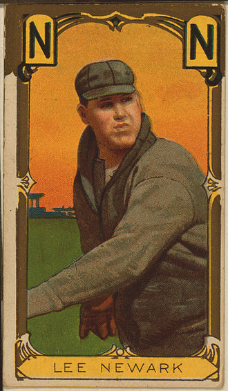 Watty Lee - Watty Lee with the Newark Indians in 1910.