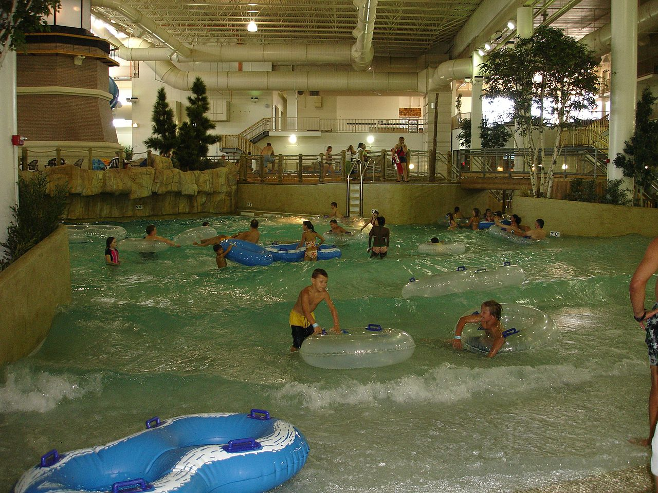 File Wave Pool At Water Park Of America Jpg Wikimedia