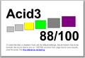 Webkit Acid 3 Test Result score 88.png