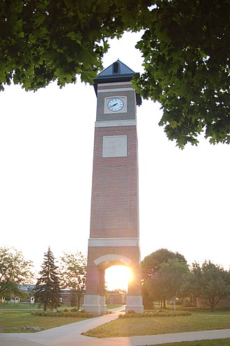 Cornerstone University - The Welch Tower