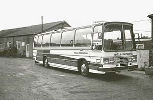 Wells Continental Ford R1114 - Duple, CVS 944T at Maldon 1979.jpg