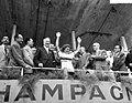 Wereldkampioenschappen amateurs dames op de weg te Reims wereldkampioene Elsy Ja, Bestanddeelnr 909-8134.jpg