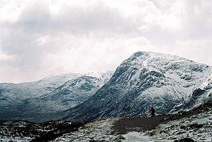 La valle di Glencoe vista dalla West Highland Way