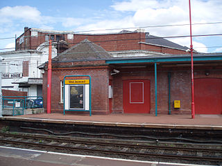 West Jesmond Metro station Station of the Tyne and Wear Metro
