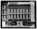 West elevation - 309 Fayetteville Street (Commercial Building), 309 Fayetteville Street, Raleigh, Wake County, NC HABS NC-404-1.tif
