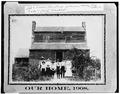 West front, 1908 6A, 53-Ruck.v, 1A-21 - Alexander-Cleveland Farm, County Road 238, Ruckersville, Elbert County, GA HABS GA,53-RUCK.V,1-26.tif