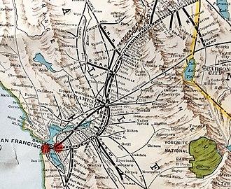 Western Pacific Railroad - Western Pacific in California 1931