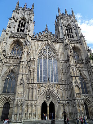 Western Face of York Minster