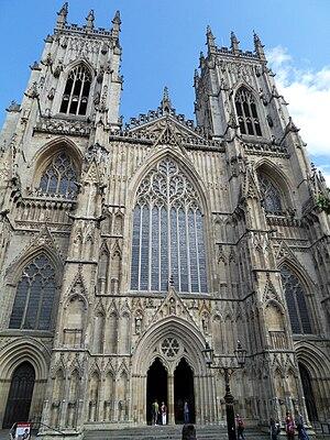 Western Face of York Minster
