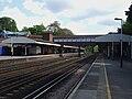 Weybridge station look east3.JPG