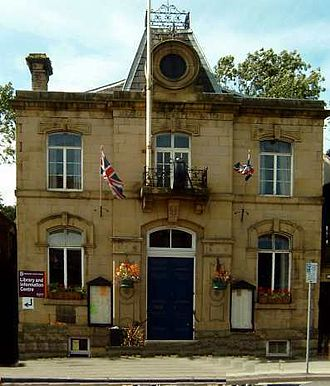 Whaley Bridge - Mechanics' Institute, which serves as town hall, function room and library