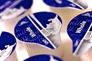 Ultra-high-temperature processing - Cartons of UHT milk
