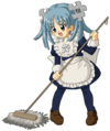 Wikipe-tan mopping