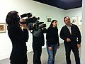 Wikipedian in Residence at Museu d'Art Jaume Morera- press presentation (14).JPG