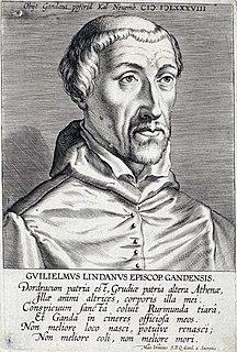 William Damasus Lindanus Dutch bishop