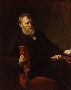 William Edward Forster - Image: William Edward Forster by Henry Tanworth Wells