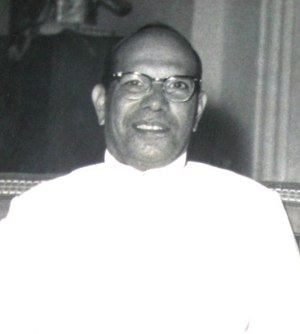 Governor-General of Ceylon - William Gopallawa, MBE