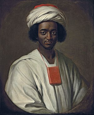 1733 in art - William Hoare's portrait of Ayuba Suleiman Diallo