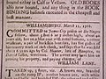 Williamsburg VA slave notice 1766.jpg