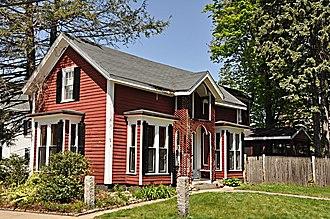 Kenelum Baker House - Image: Winchester MA Kenelum Baker House