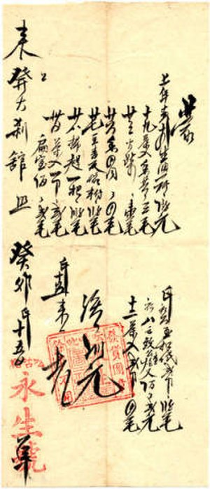 Yip Sang - Incomes statement of Wing Sang Company, 1903