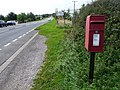 Winterborne St. Martin, postbox No. DT2 96, Radio Station Cottages - geograph.org.uk - 1477270.jpg