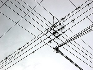 Wire - Wires overhead